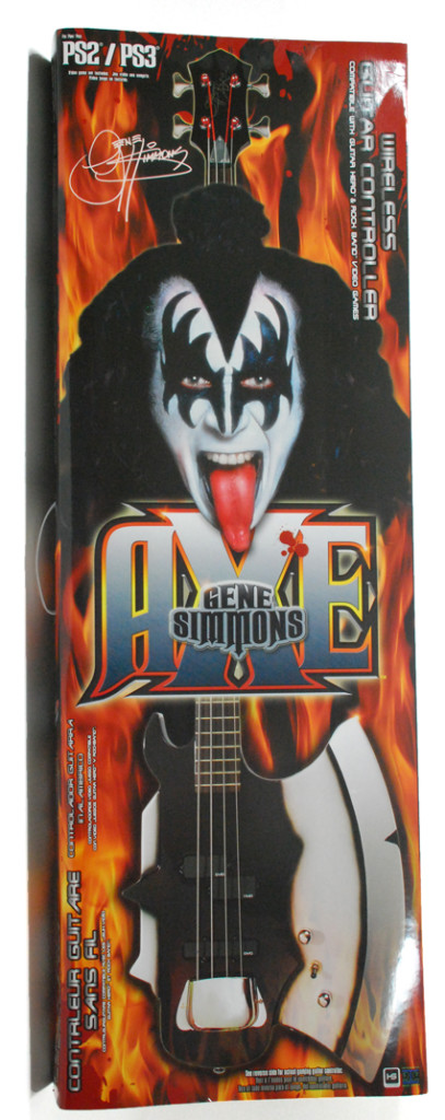 Gene Simmons Axe Wireless Guitar Controller for PS2/PS3