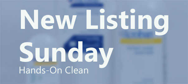 New Listing Sunday: Stay Clean