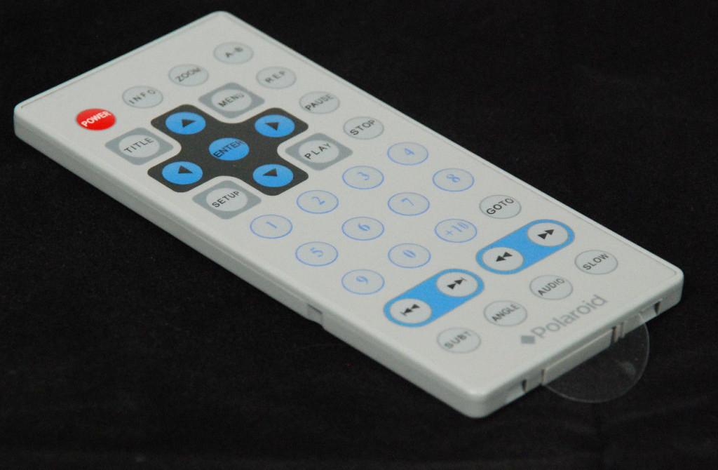 Genuine Polaroid Portable DVD Player Remote RC-50/RC-42 RC50/RC42 OEM